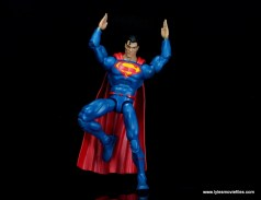 dc multiverse superman rebirth figure review - landing