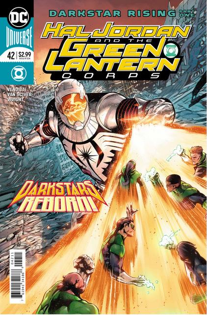 hal jordan and green lantern corps 42