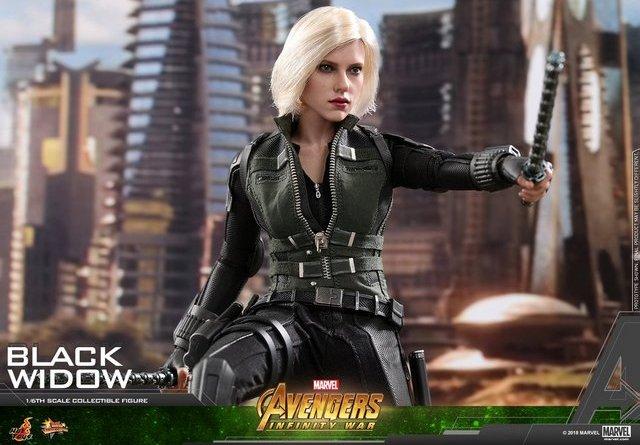 hot toys avengers infinity war black widow -main pic