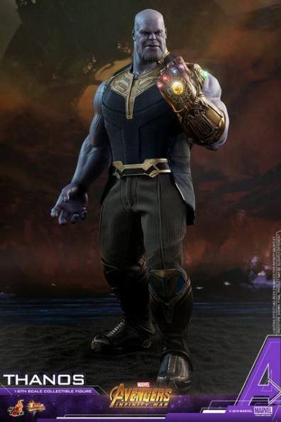 hot toys avengers infinity war thanos figure - full detail