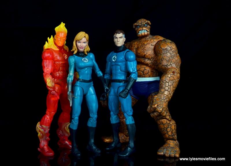 marvel legends mister fantastic figure review - fantastic four