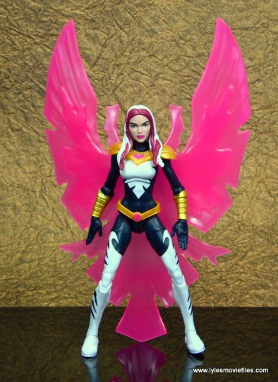 marvel legends songbird figure review - straight with bird effect