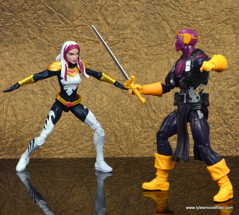 marvel legends songbird figure review - vs baron zemo