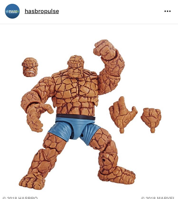 marvel legends the thing loose