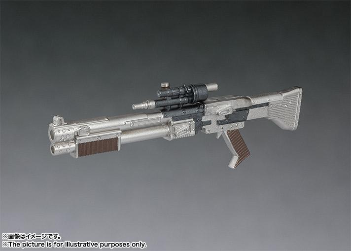 sh figuarts solo chewbacca figure -gun closeup