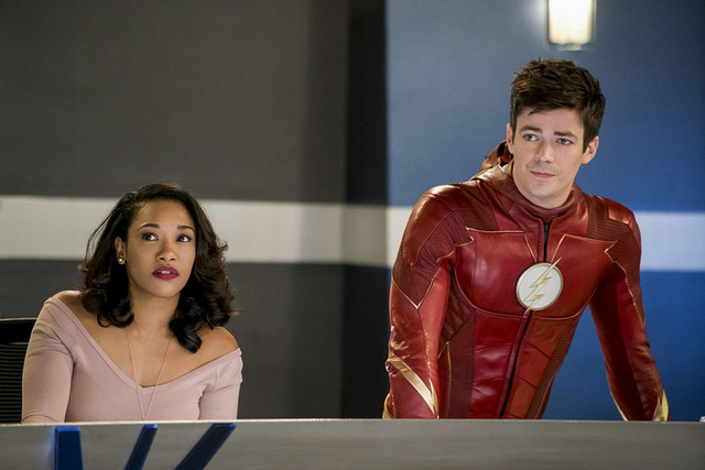 the flash null and annoyed review - iris and barry