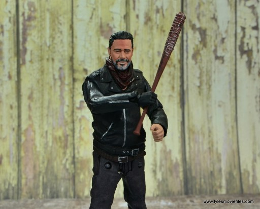 the walking dead negan figure review - about to swing