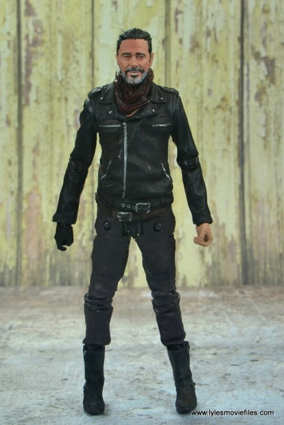 the walking dead negan figure review - front