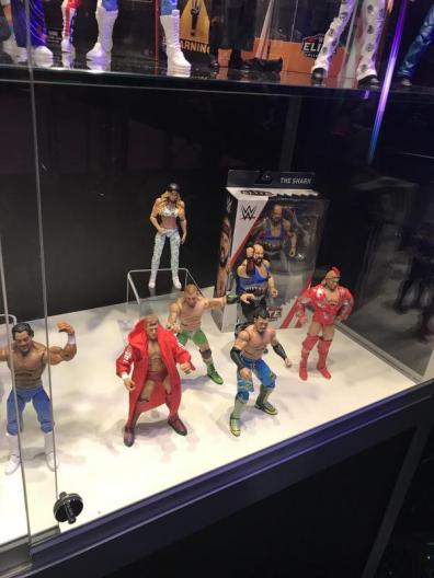 wwe axxess ron simmons, red rooster, carmella, mojo rawley, towza