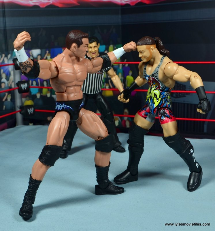wwe elite 49 randy orton figure review - punching rvd