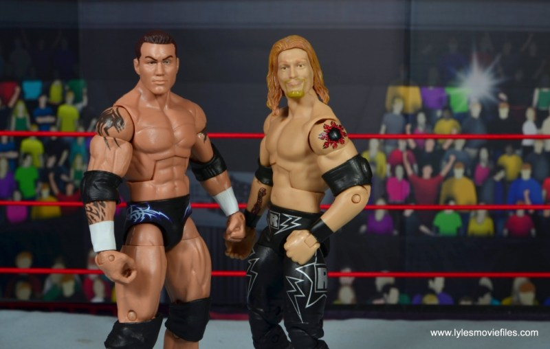wwe elite 49 randy orton figure review - rated rko with edge