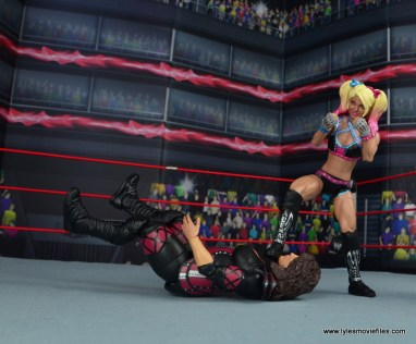 wwe elite 53 alexa bliss figure review -taunting nia jax