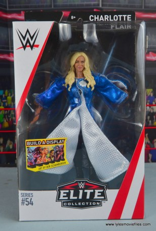 wwe elite 54 charlotte flair figure review - package front
