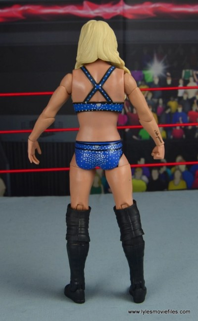 wwe elite 54 charlotte flair figure review - rear
