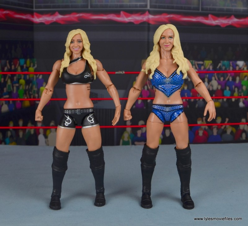 wwe elite 54 charlotte flair figure review - with first mattel charlotte