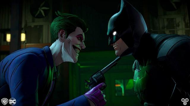 batman the enemy within - the joker and batman