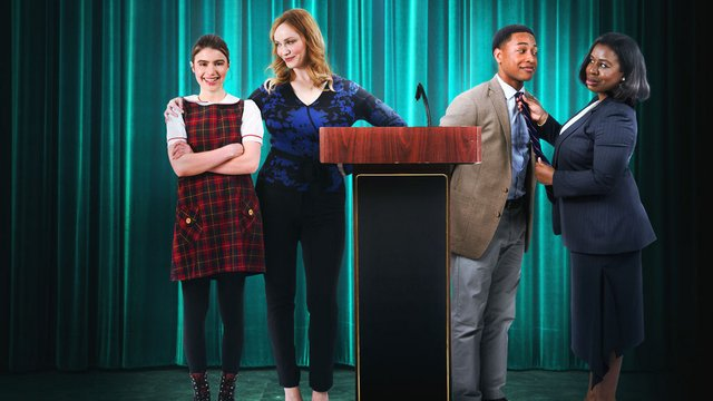candy jar movie review - sami gayle, christina hendricks, jacob latimore and uzo aduba