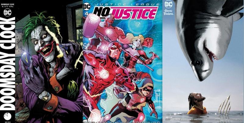 dc comics reviews for 5/30/18