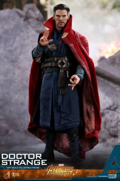 hot toys avengers infinity war doctor strange figure - bringing the magic