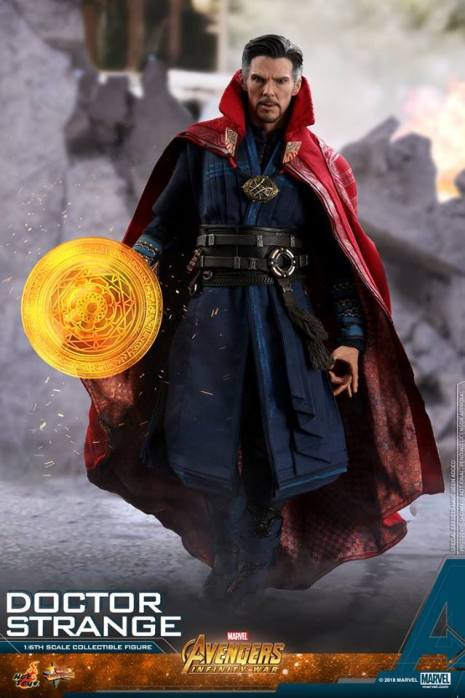 hot toys avengers infinity war doctor strange figure -walking