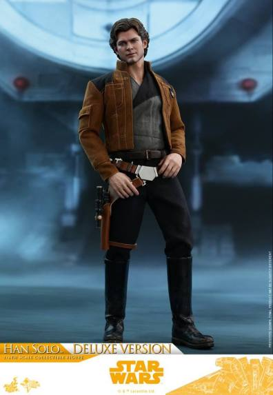 hot toys solo a star wars story han solo figure -hands on belt