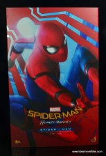 hot toys spider-man homecoming figure review - package front