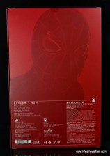 hot toys spider-man homecoming figure review - package rear