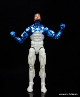 marvel legends cosmic spider-man figure review -about to take off