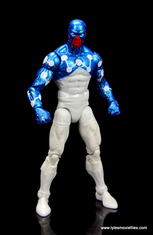 marvel legends cosmic spider-man figure review -cosmic spidey