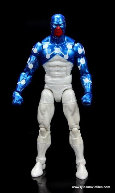 marvel legends cosmic spider-man figure review - front