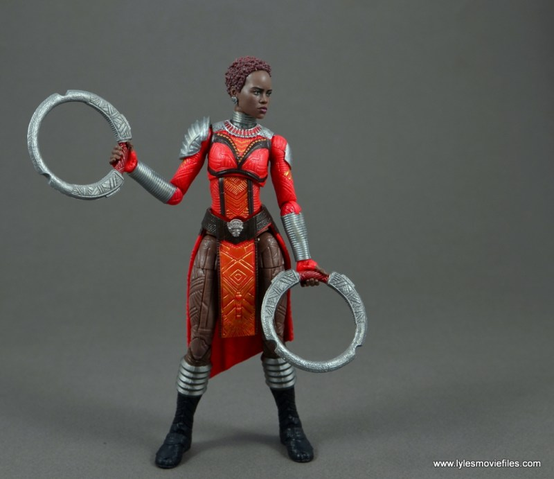marvel legends nakia figure review - fight time
