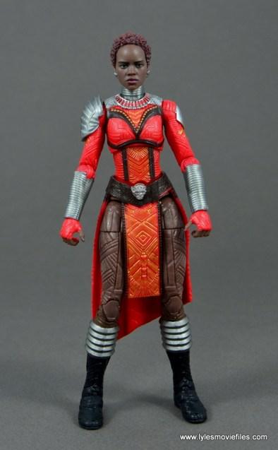marvel legends nakia figure review - front