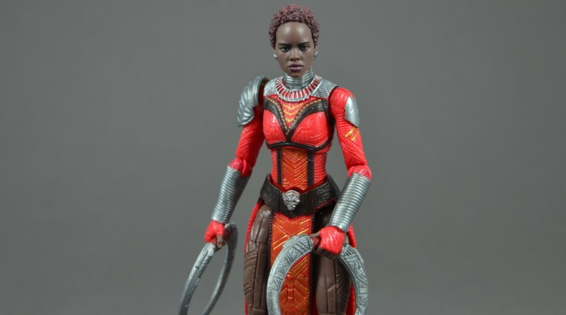 marvel legends nakia figure review - main pic