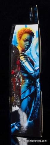 marvel legends nakia figure review - package side