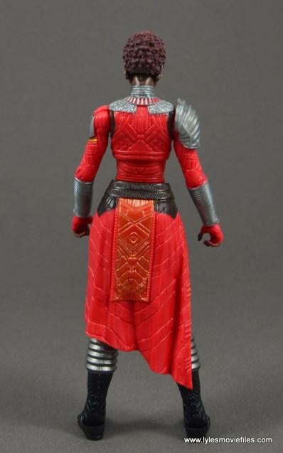 marvel legends nakia figure review - rear