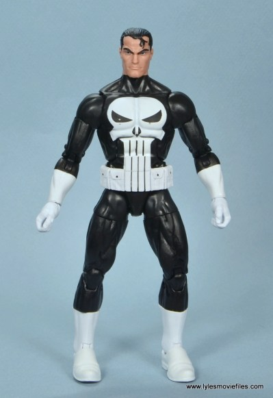 marvel legends the punisher retro figure review - front