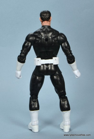 marvel legends the punisher retro figure review - rear