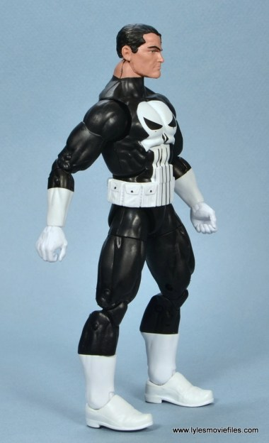 marvel legends the punisher retro figure review - right side