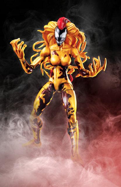 marvel legends venom wave -scream