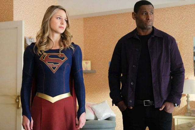 supergirl shelter from the storm - supergirl and j'onn