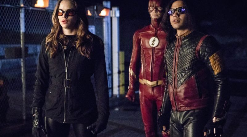the flash think fast review - caitlin, the flash and vibe