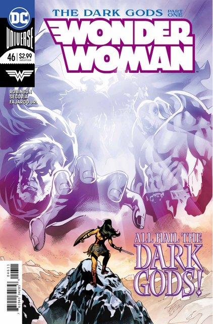 wonder woman 46 cover