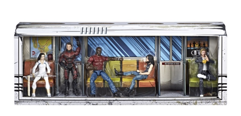 marvel Legends Defenders rail authority moc
