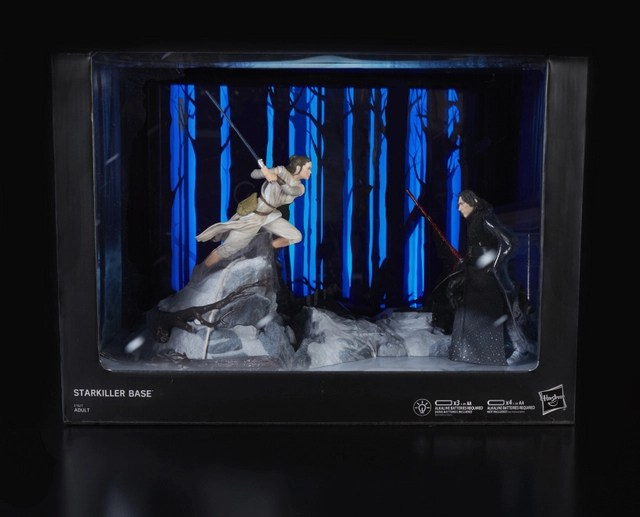 STAR WARS THE BLACK SERIES CENTERPIECE REY (STARKILLER BASE) & KYLO REN Figure - in pkg1_v1_current