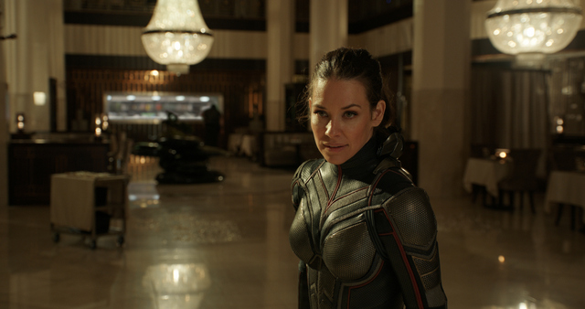 ant-man and the wasp movie review - evangeline lily as the wasp
