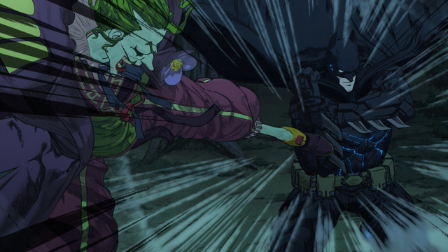 batman ninja review -joker vs batman