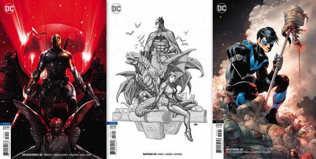 dc comics reviews 6/6/18