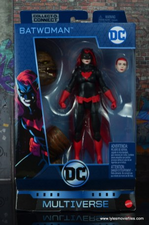 dc multiverse batwoman figure review - package front