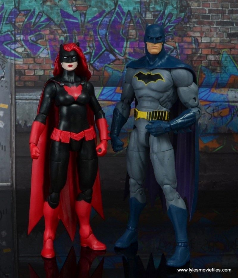 dc multiverse batwoman figure review - with dc collectibles rebirth batman