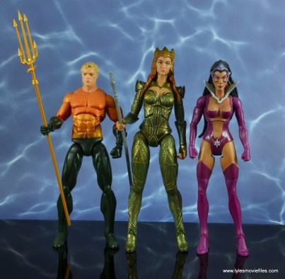 dc multiverse mera figure review - scale with dc icons aquaman and dc classics star sapphire